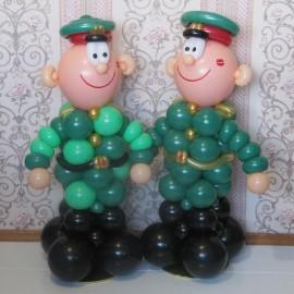 Солдатики зелёные