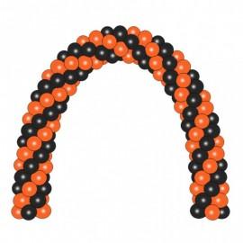 Гирлянда черно-оранжевая