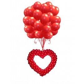 Запуск сердца на 33 шарах