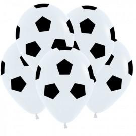 """Гелиевые шары """"Футбольные мячи"""""""