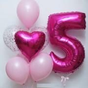 Розовый набор для девочки