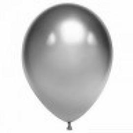 """Гелиевые шары хром """"серебряные"""""""