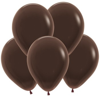Гелиевый шар коричневый