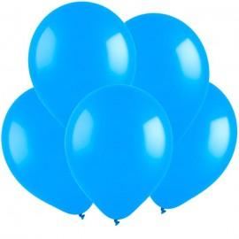 Гелиевый шар голубой