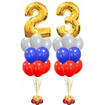 """Фонтаны триколор """" 23 """""""