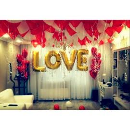 """Оформление комнаты """"LOVE"""""""
