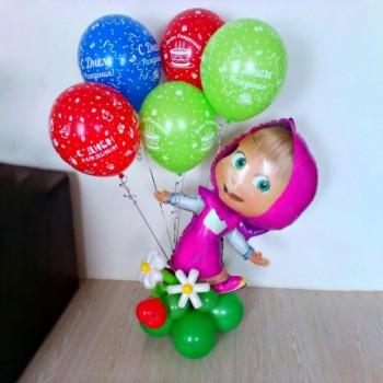 Маша + 5 шариков ДР