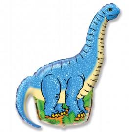 Динозавр голубой