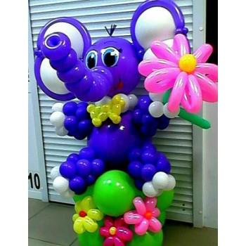 Слоник фиолетовый