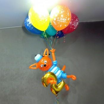 Коржик на шарах
