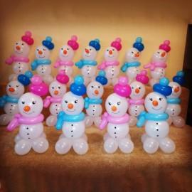 Мини-снеговички