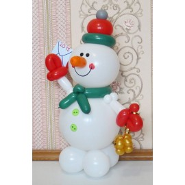 Снеговик с письмом