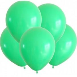 Гелиевый шар зелёный