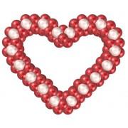 Сердце из шаров 1 м
