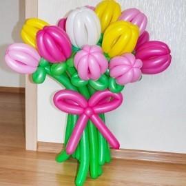 Букет 11 тюльпанов ассорти