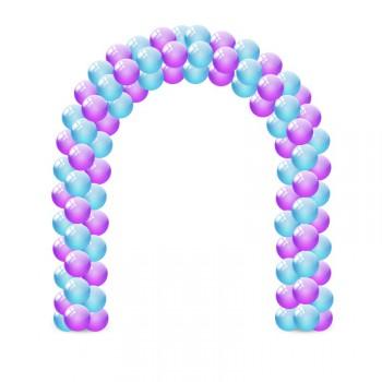 Гирлянда из воздушных шаров 1 м