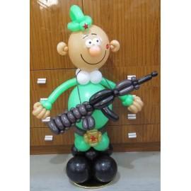 Солдатик с автоматом