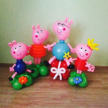 Семья свинок Пеппа