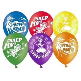 "Гелиевые шары ""Супер-Мама"""