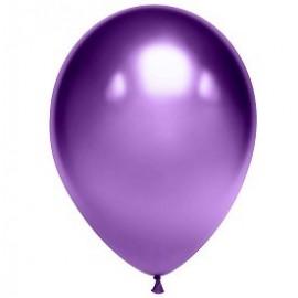"""Гелиевые шары хром """"фиолетовые"""""""