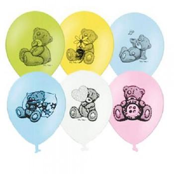 """Гелиевые шары """"Мишки Тэдди"""""""
