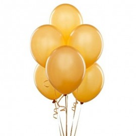 Гелиевый шар золотой