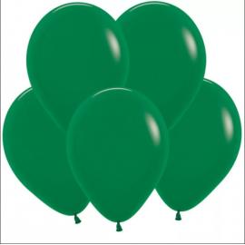 Гелиевый шар тёмно-зелёный