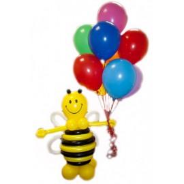 Пчелка + 10 шаров