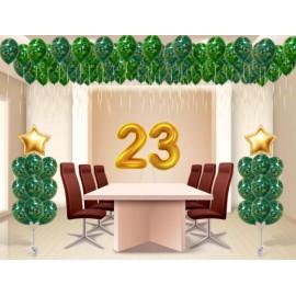 Оформление офиса к 23 февраля