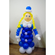 Снегурочка в синей шубе