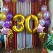 Цифры 30 + 2 фонтана