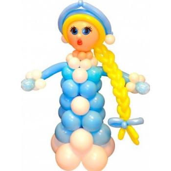 Снегурочка с косой