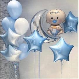 Набор шаров на выписку малыша
