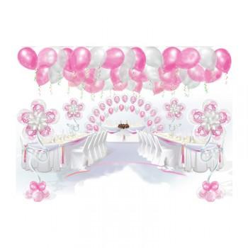 """Пакет оформления шарами """"Розовый"""""""