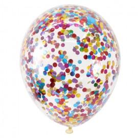"Гелиевый шар с конфети ""ассорти"""