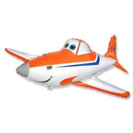 Оранжевый самолётик