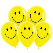 """Гелиевый шар """"Желтый смайлик"""""""