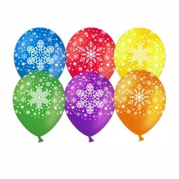 """Гелиевый шар """"Снежинки"""""""
