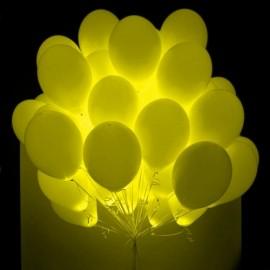 "Светодиодный гелиевый шар ""желтый"""
