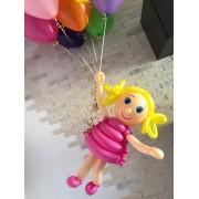 Девочка на шариках