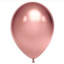 """Гелиевые шары хром """"розовое золото"""""""