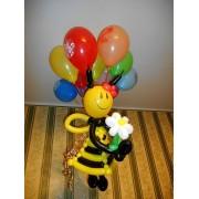 Пчёлка + 10 шариков с ДР